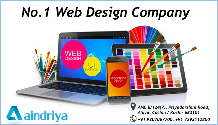 no1 web design company kerala