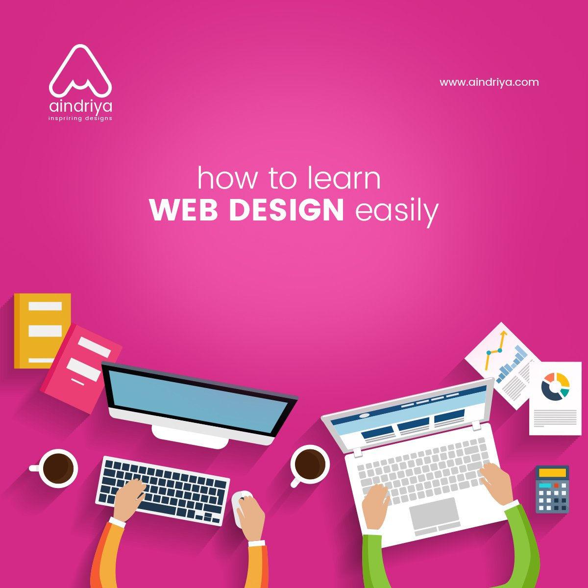 How To Learn Web Design easily ?